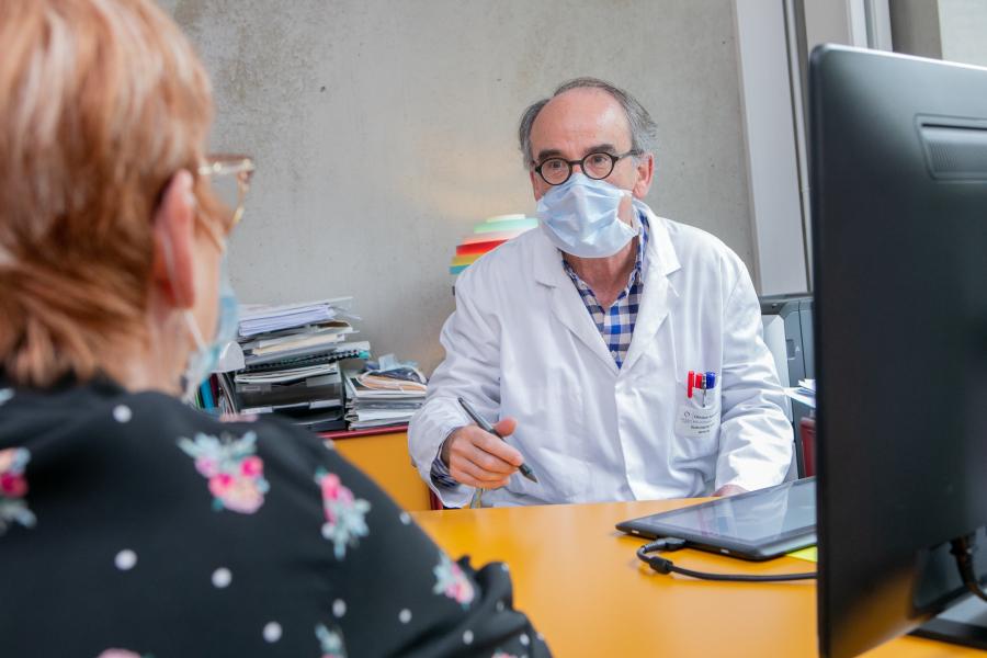 photographe-consultation-m�dicale - Reportage photo - Clinique Saint Antoine - Rouen (Groupe VIVALTO)
